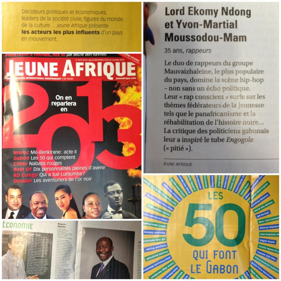 jeune afrique decembre 2012